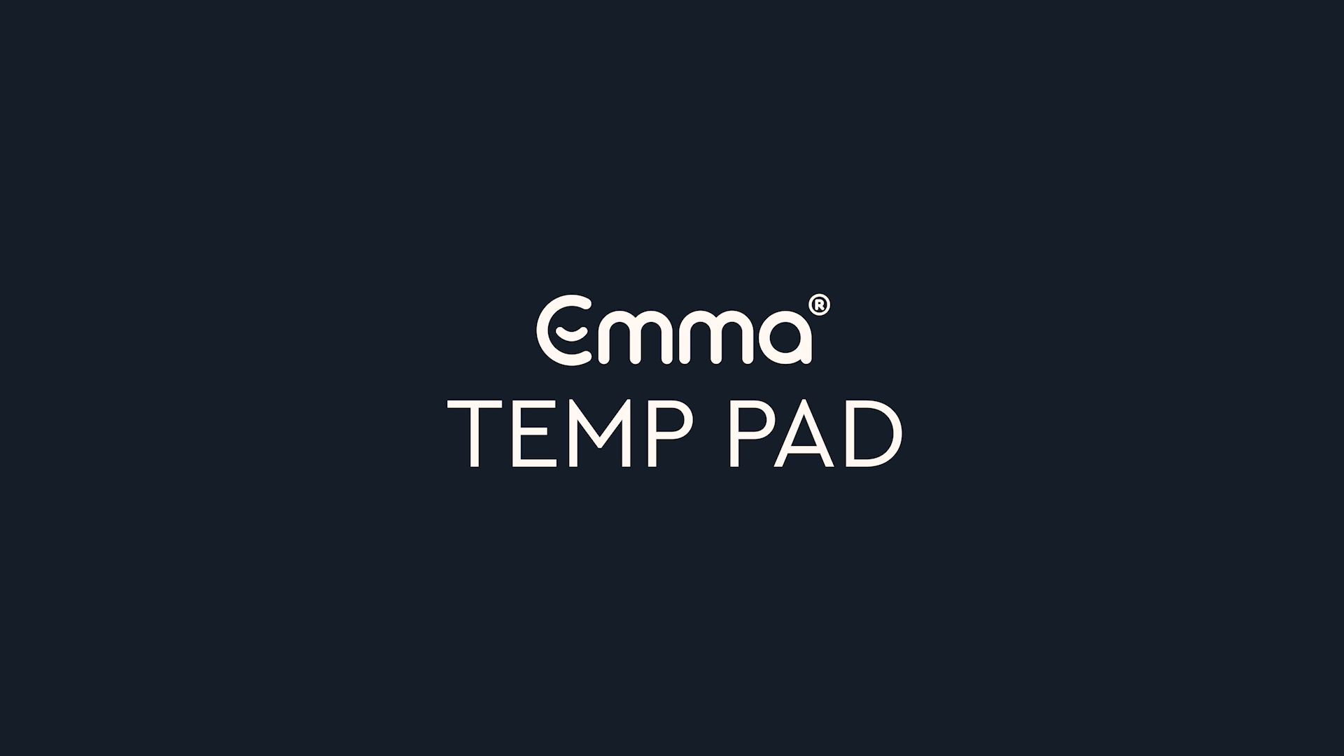 Emma Temp Pad