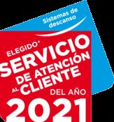 Ganador Servicio de Atención al Cliente del año en la categoría de Sistemas de descanso; 2021
