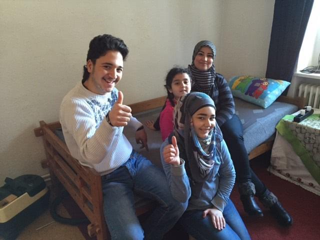 Le matelas Emma pour les réfugiés