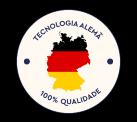 Tecnologia Alemã, 100% qualidade