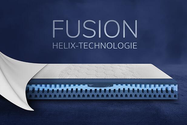 Dunlopillo Fusion-Präsentation