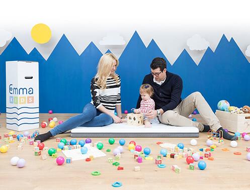 Emma Kids Babymatratze für Kleinkinder schadstoffgeprüft