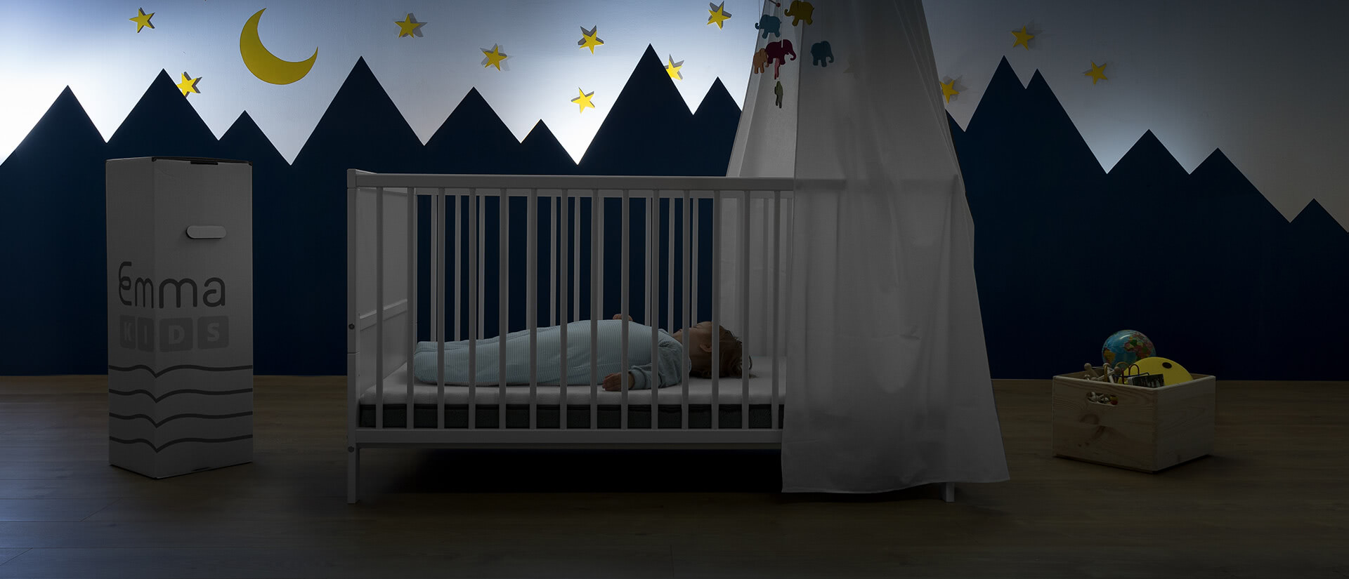 Sicherheit im Babybett