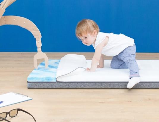 Emma Kids Baby Matratze Stützung und Härtegrad